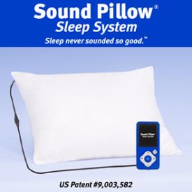 Sound Pillow® - Sleep Never sounded so good  SoundPillow