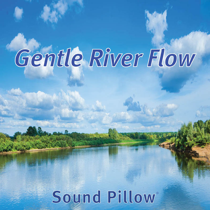 Gentle River Flow Soundpillow Soundpillow